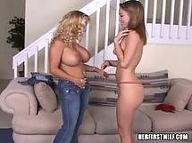Charity. Her First Milf - blonde tits