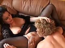 granny lesbian club - dildo
