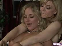 Almost an Hour with College Blonde Dia Zerva and MILF Nina Hartley - blonde