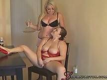 Lesbian factor - Chubby Lesbians In Love #01, Scene #4 - dildo