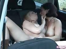 Melissa Monet Fucks Sexy Lexi Belle In Her Car 4